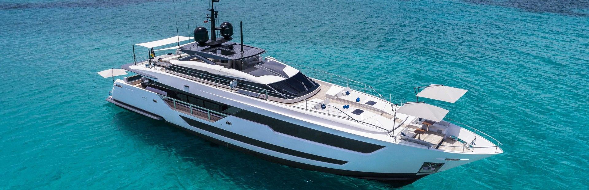 Custom Line 120 Yacht Charter