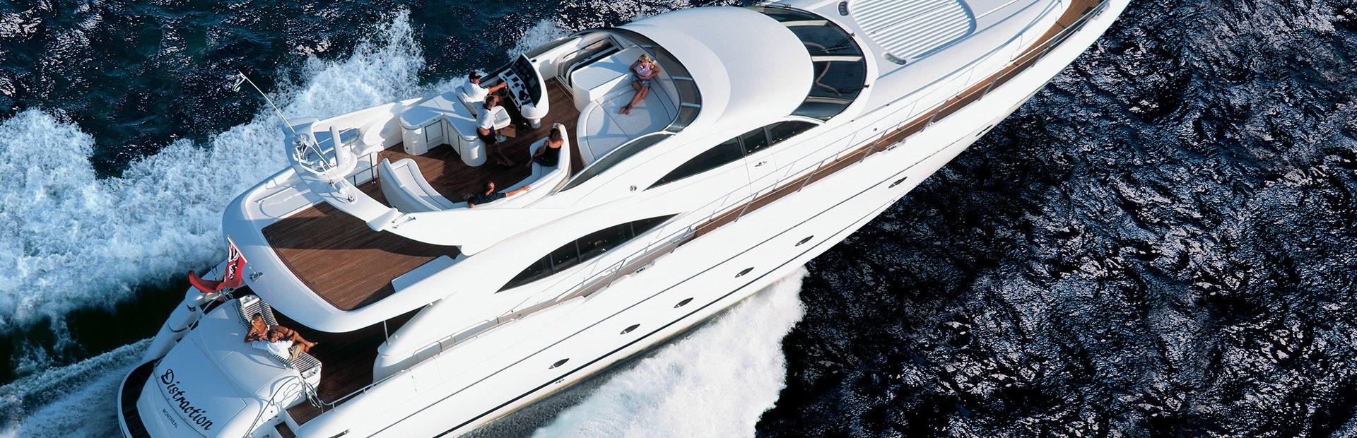 Manhattan 80 Yacht Charter