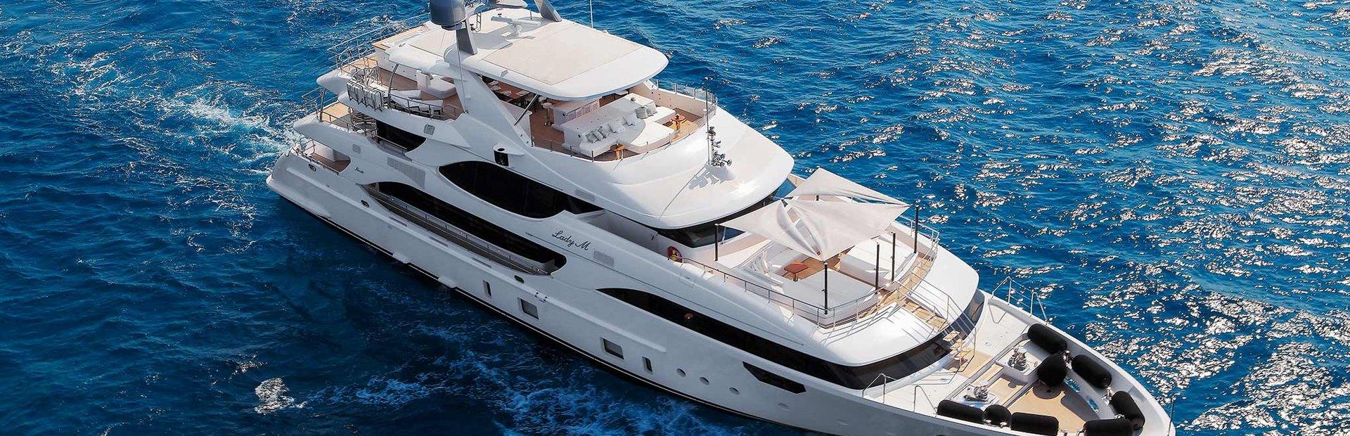 Crystal 140' Yacht Charter