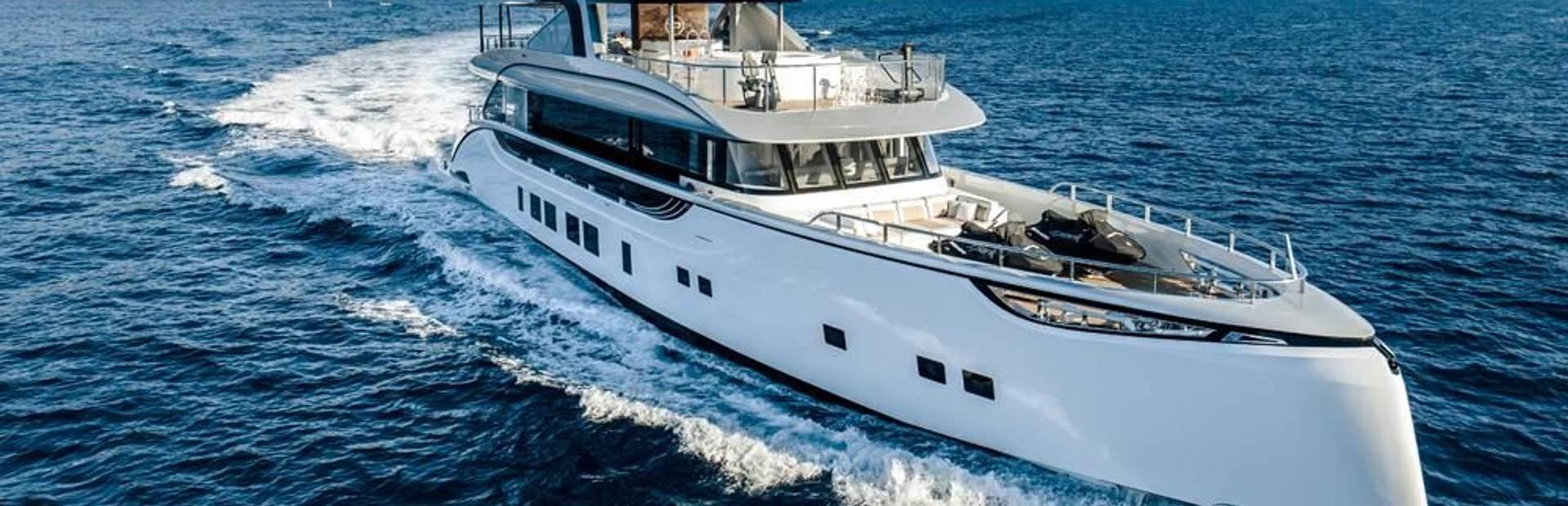 Dynamiq GTT 130 Yacht Charter