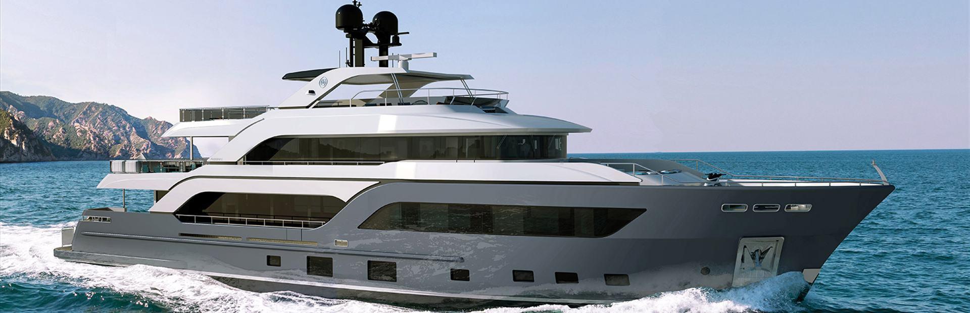 Cantiere Delle Marche Acciaio 123 Yacht Charter