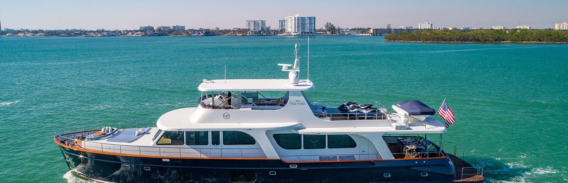 Vicem Cruiser 107 Yacht Charter