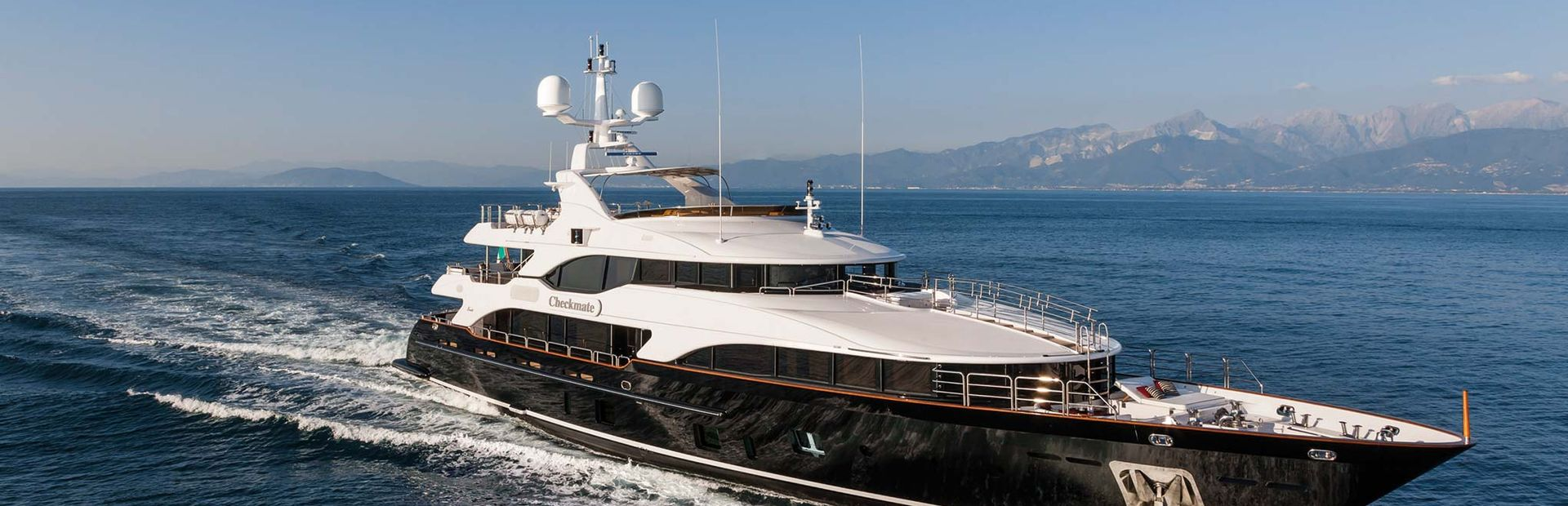 Vision 145' Yacht Charter