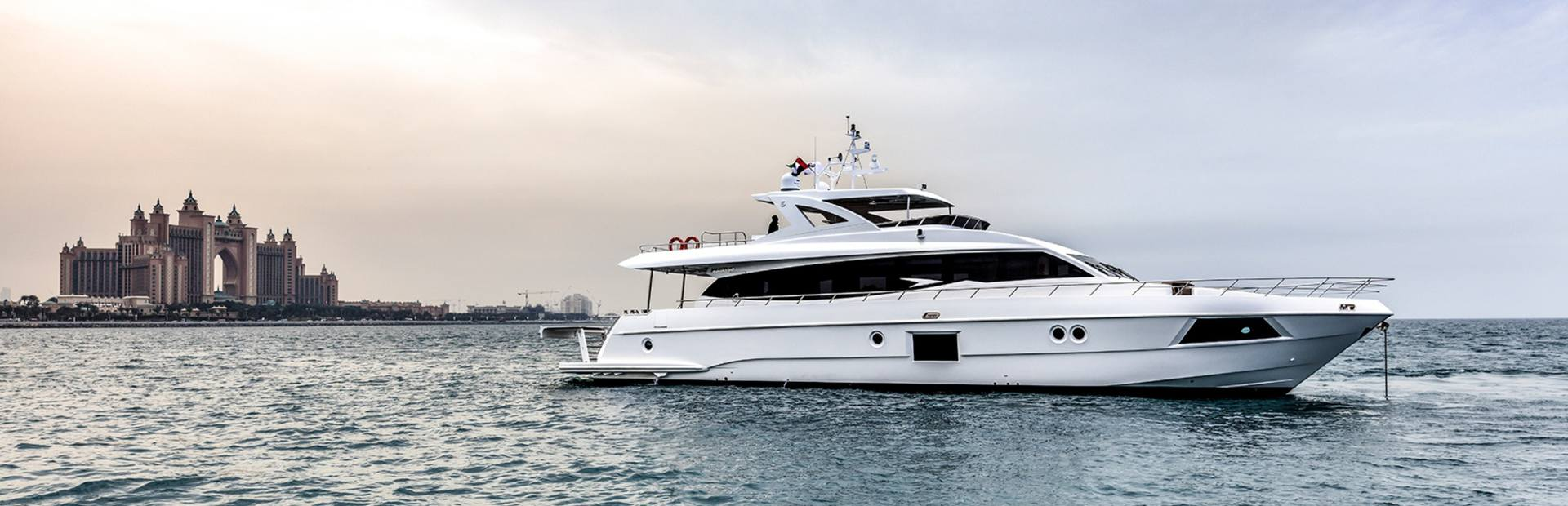 Majesty 90 Yacht Charter
