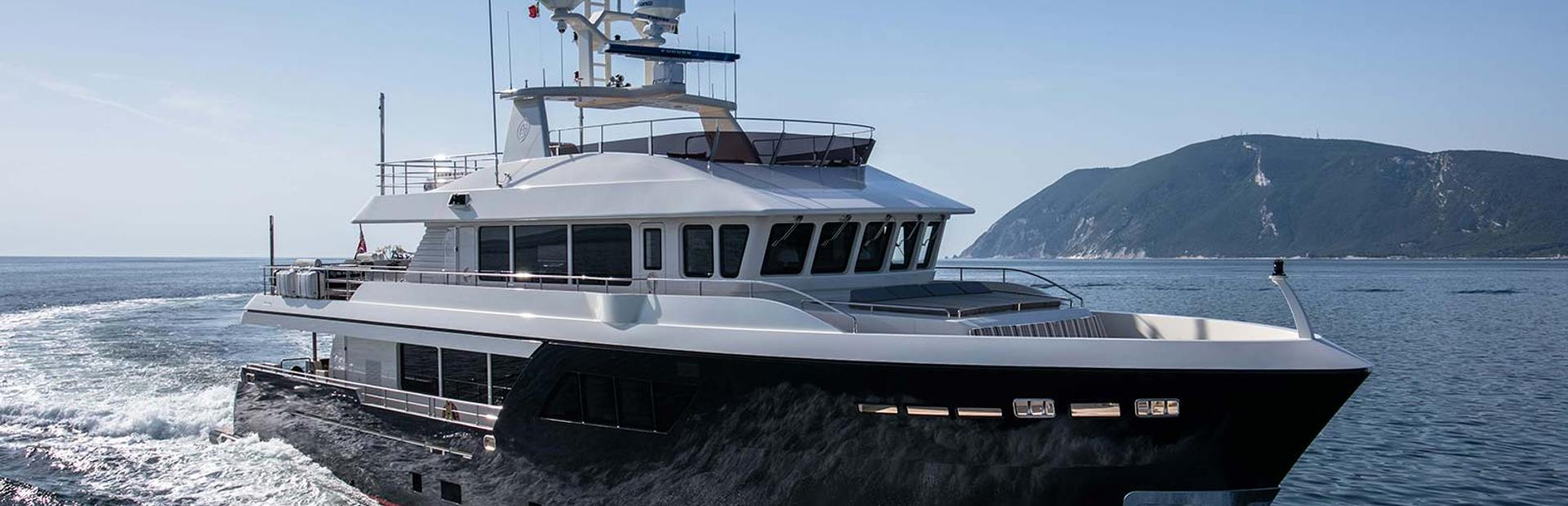 Cantiere Delle Marche Darwin 102 Yacht Charter