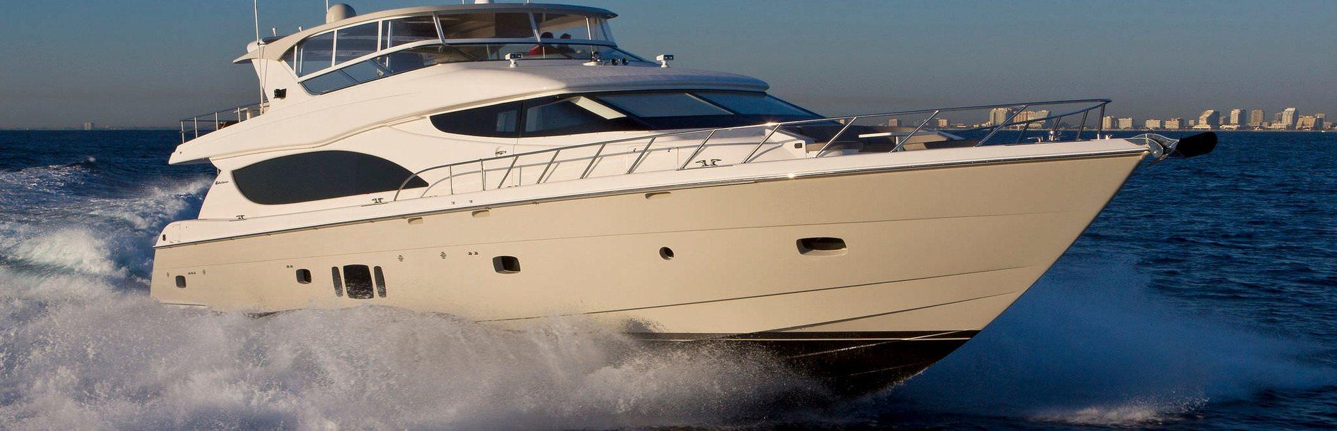 Hatteras 80 Yacht Charter