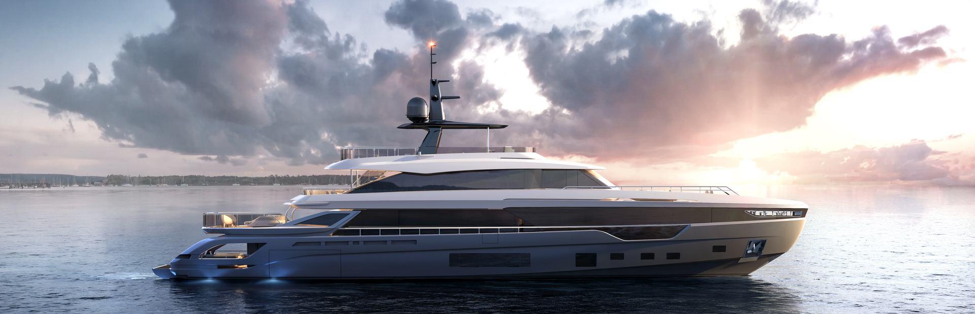 Grande 38M Trideck Yacht Charter
