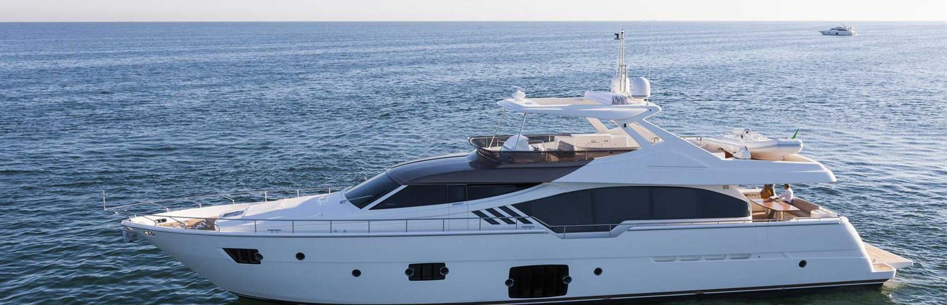 Ferretti 870 Yacht Charter