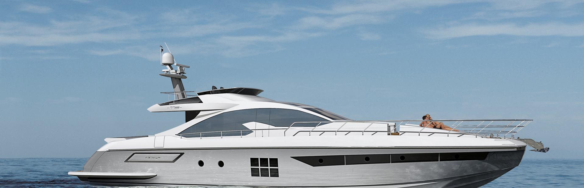 Azimut 77S Yacht Charter