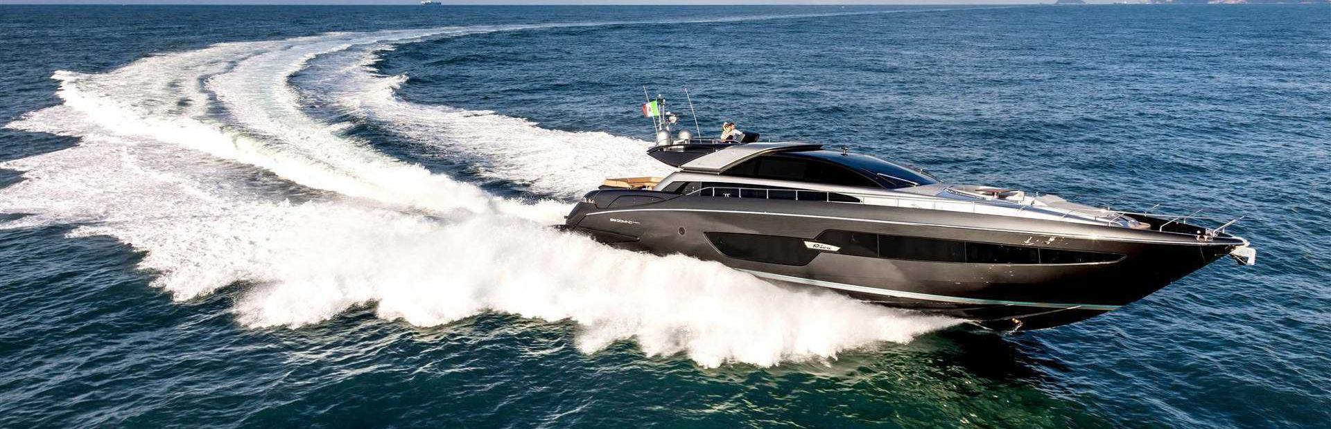 Riva 88' Domino Super Yacht Charter