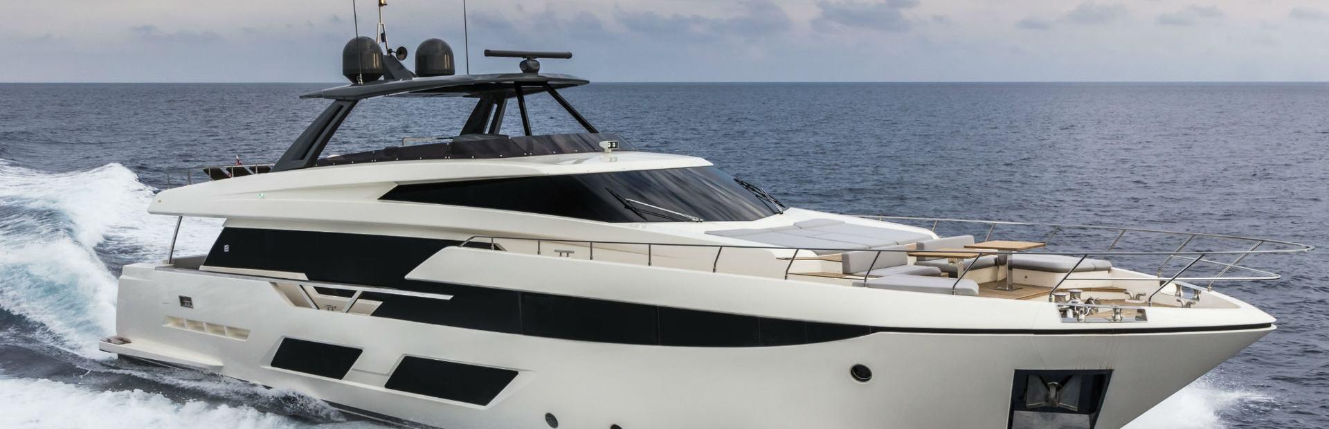 Ferretti Yachts 920 Yacht Charter
