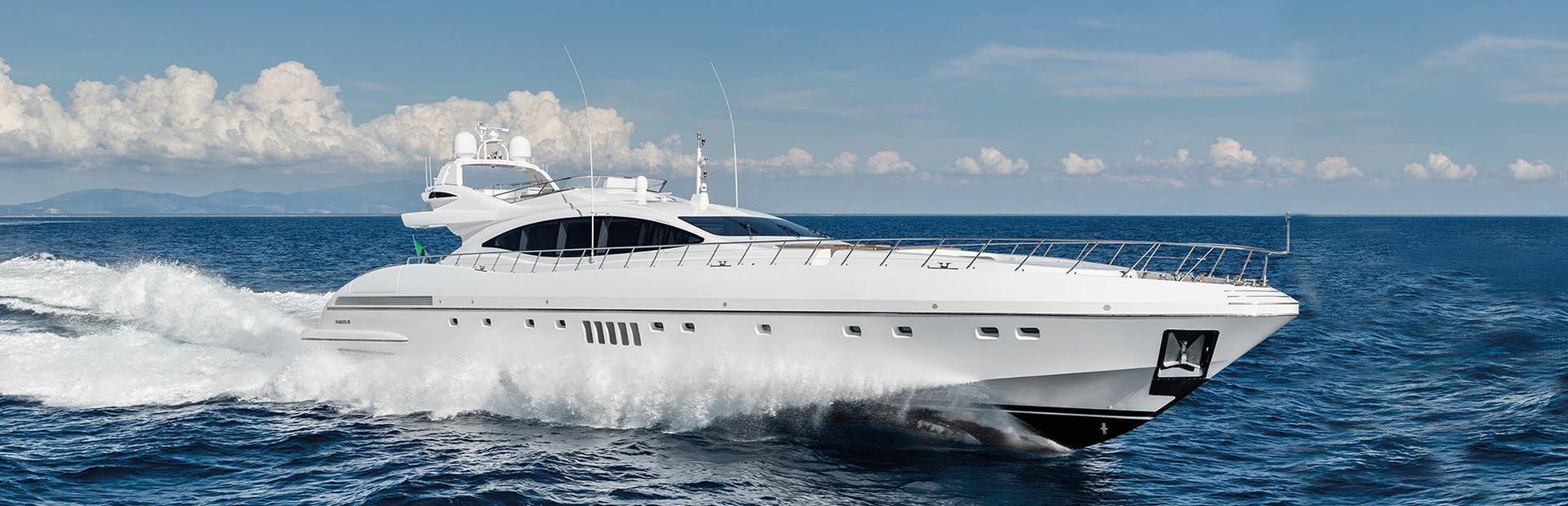Mangusta 132 Yacht Charter