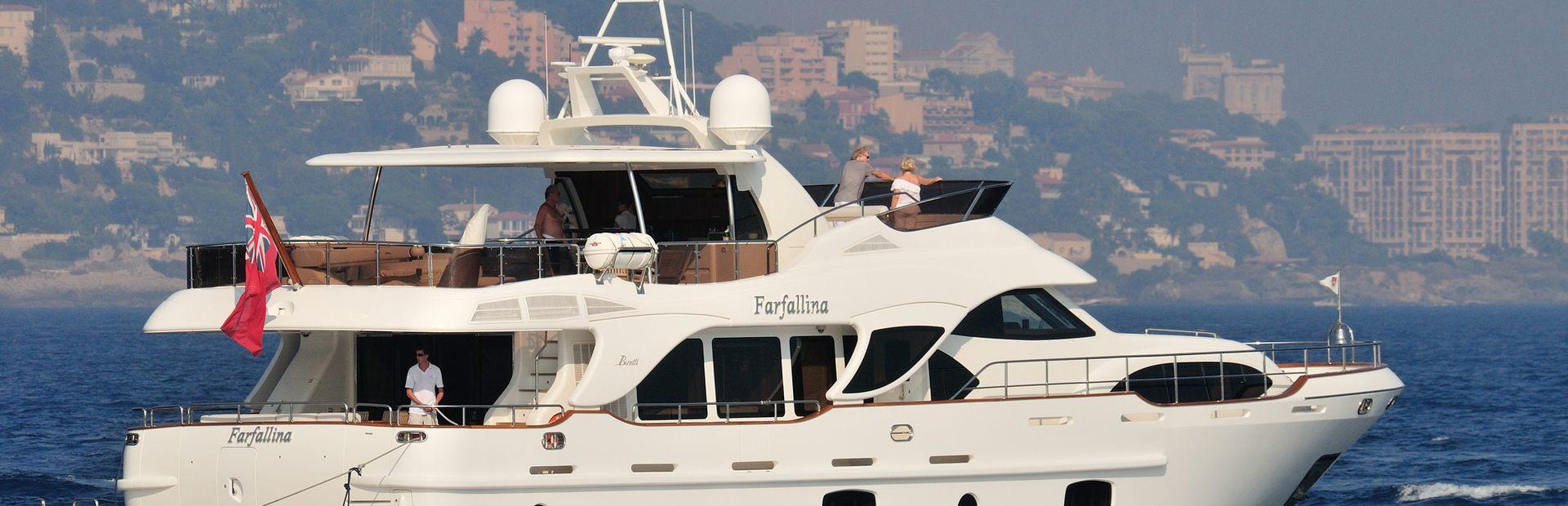 Legend 85 Yacht Charter