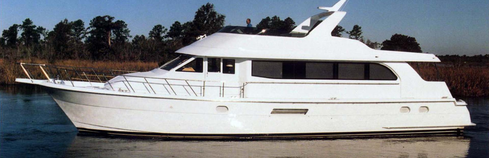Hatteras 75 SD Extended Yacht Charter
