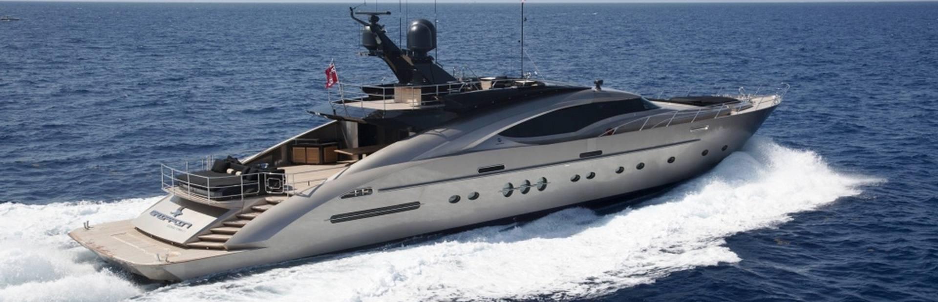 Palmer Johnson PJ135 Yacht Charter