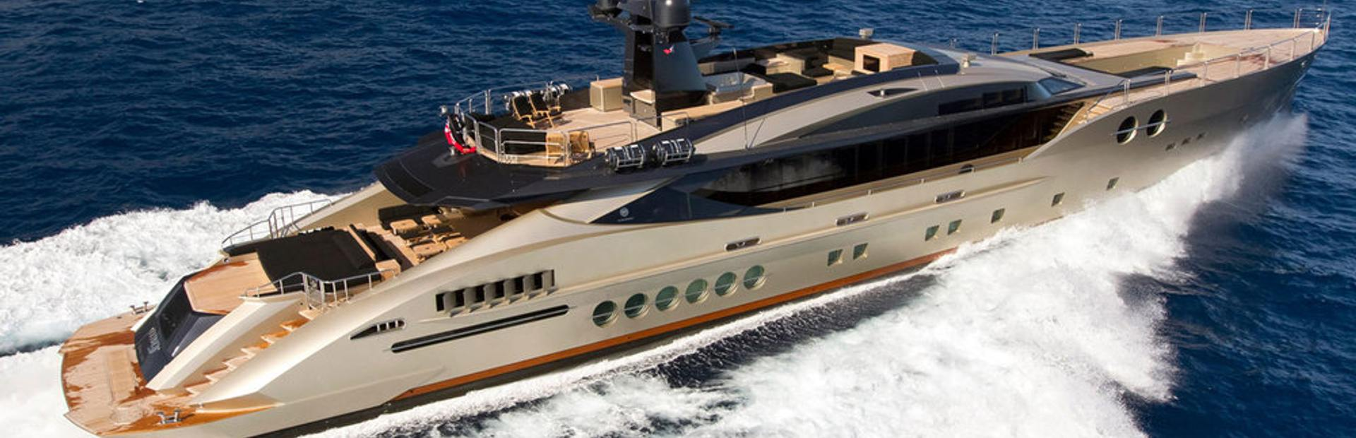 Palmer Johnson PJ 170 Yacht Charter