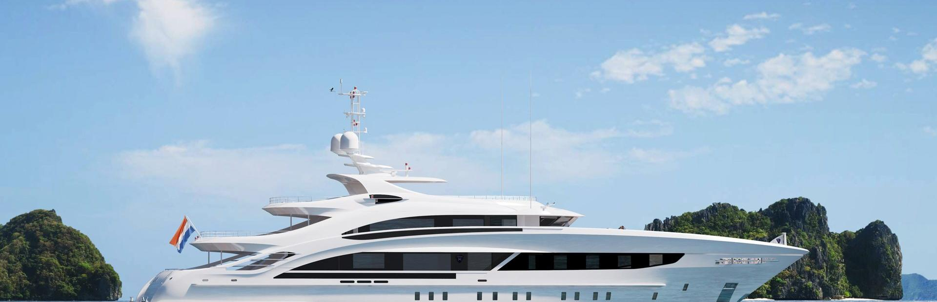 50m Steel Yacht Charter