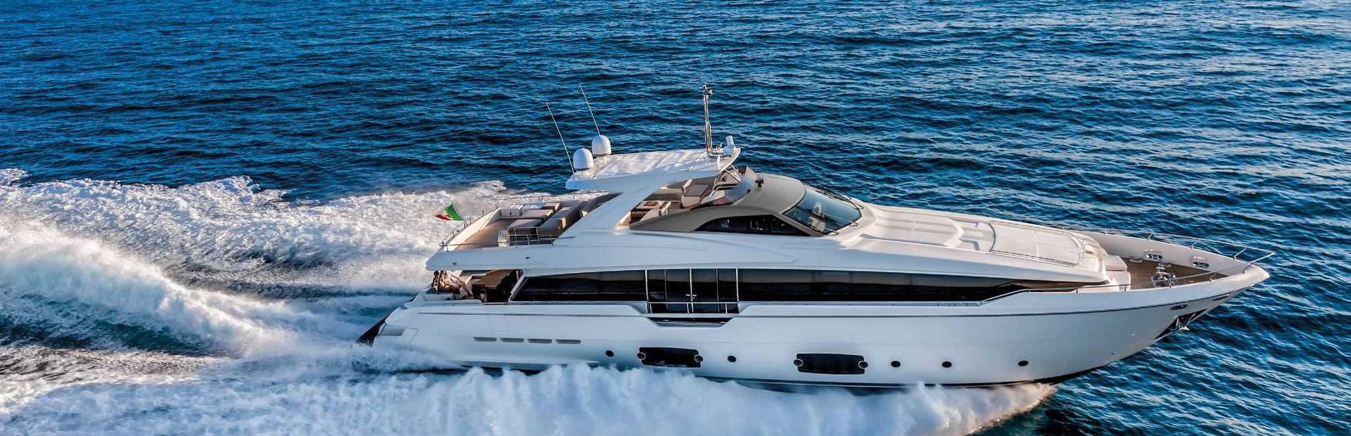 Ferretti 960 Yacht Charter
