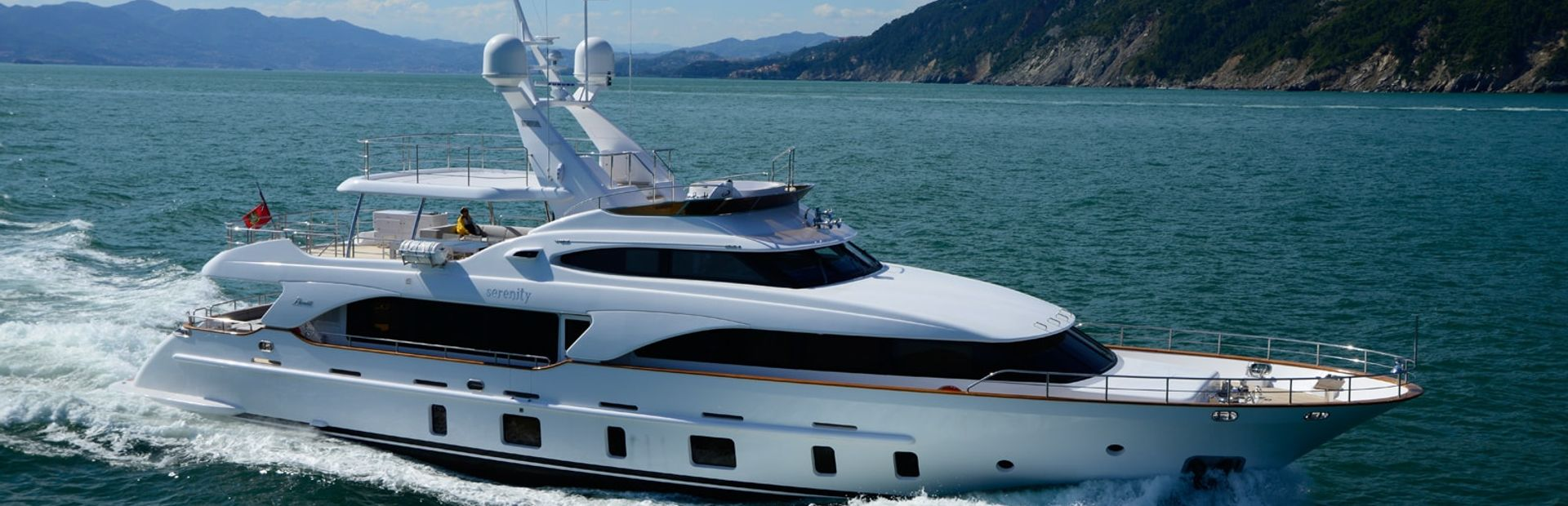 Tradition 105' Yacht Charter