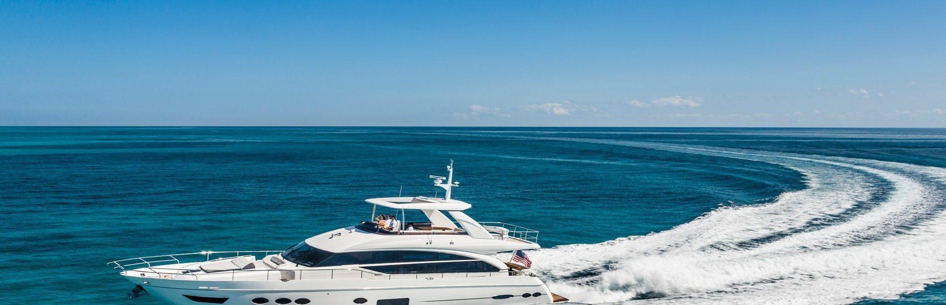 Princess Y82 Yacht Charter