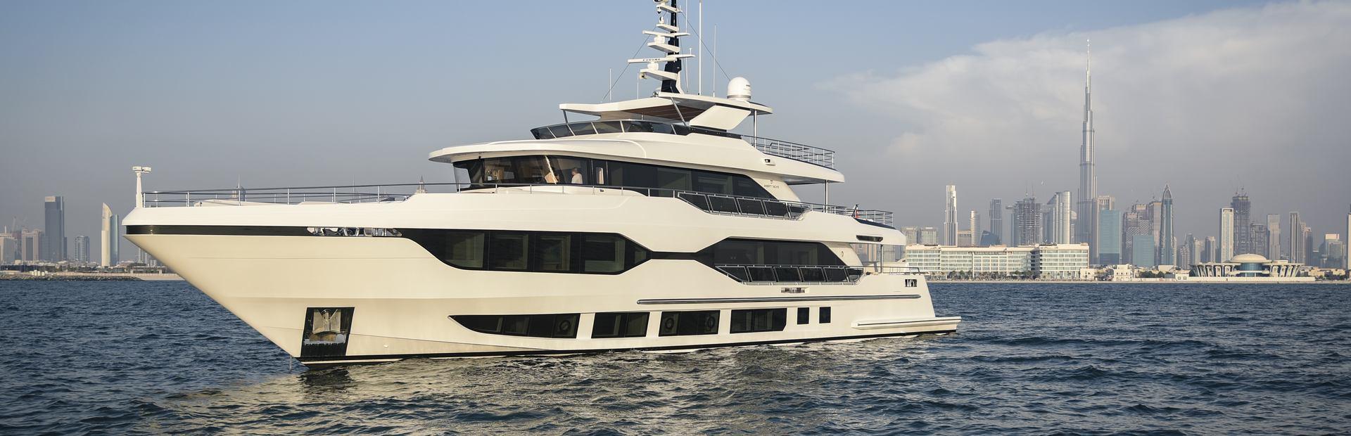 Majesty 120 Yacht Charter