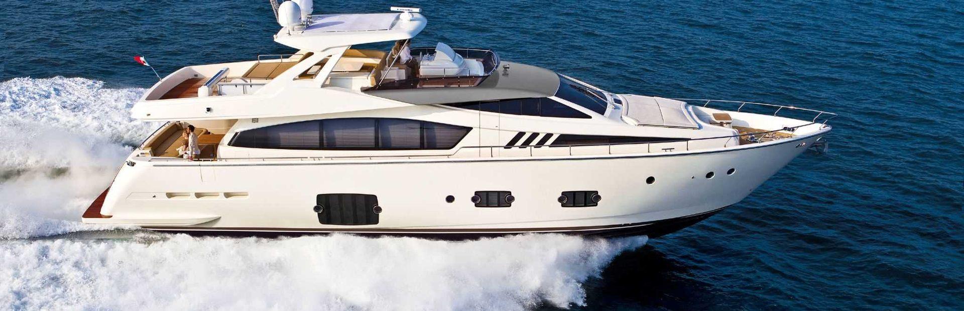Ferretti 800 Yacht Charter