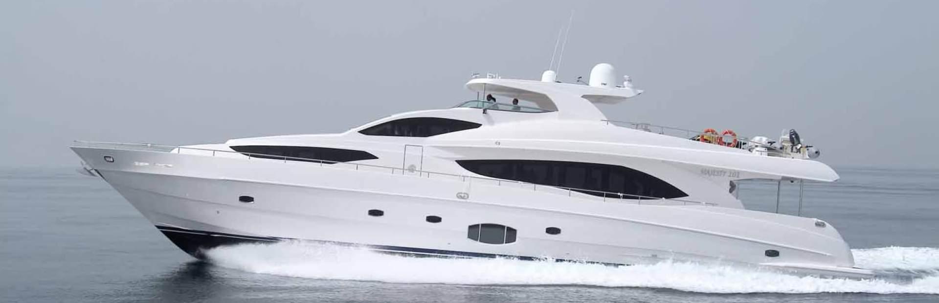 Majesty 101 Yacht Charter