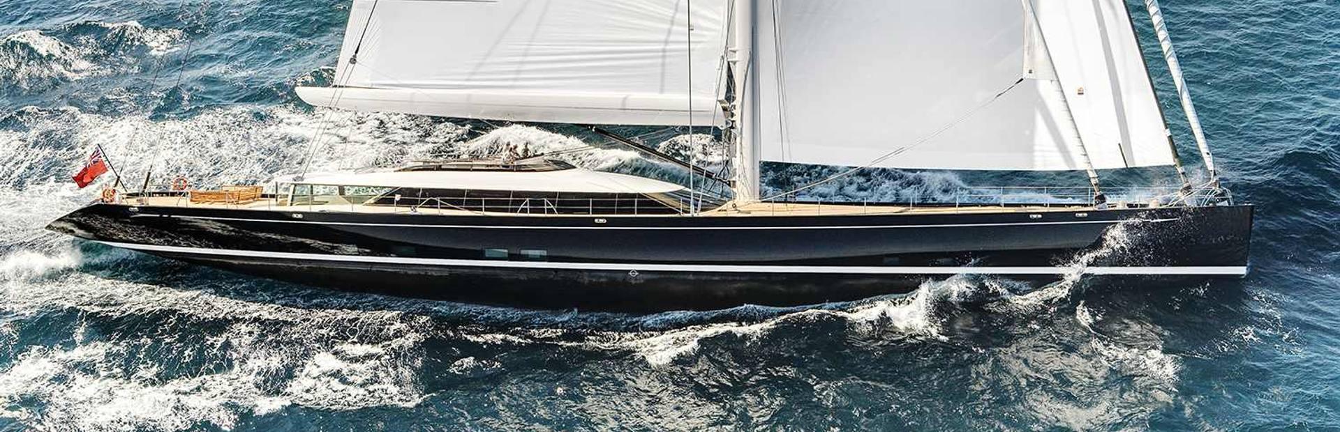 Kokomo superyacht built by Alloy Yachts