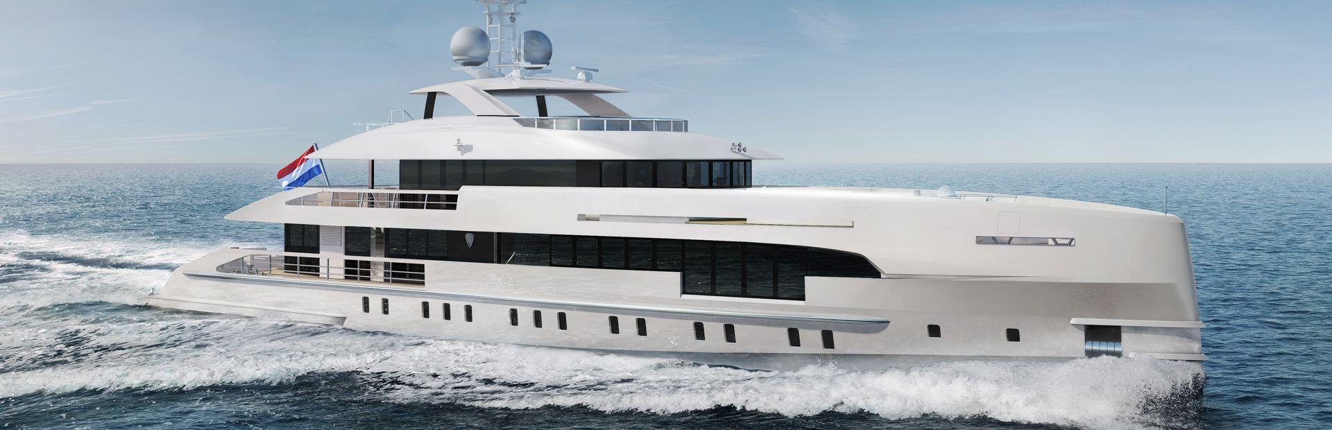 5000 Aluminium FDHF Yacht Charter