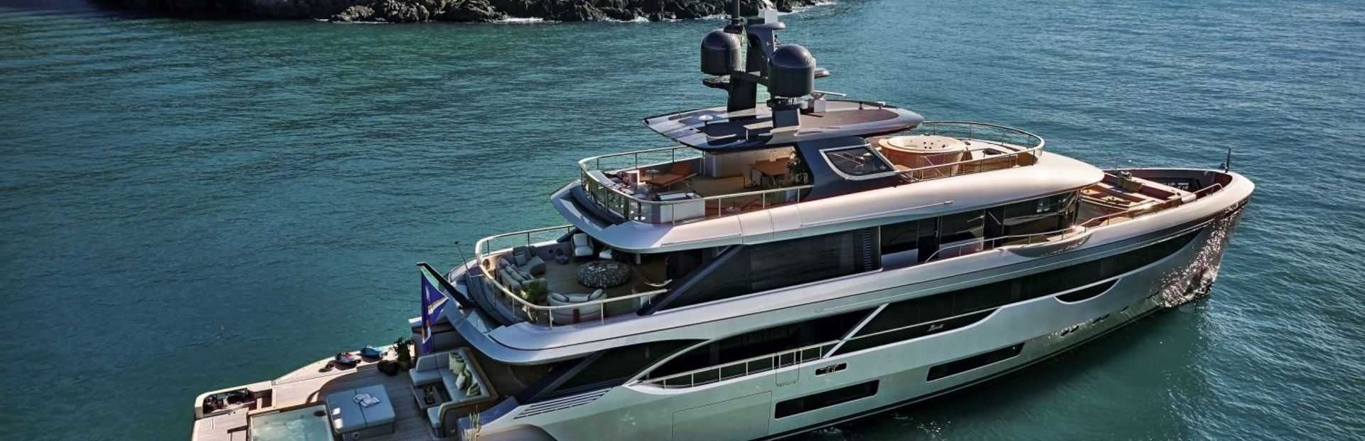 Oasis 40M Yacht Charter
