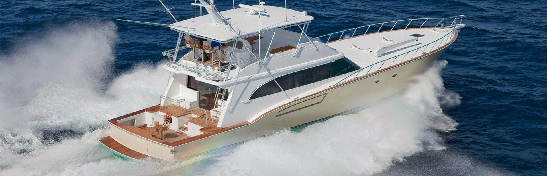 Donzi R-80 Convertible Sportfish Yacht Charter