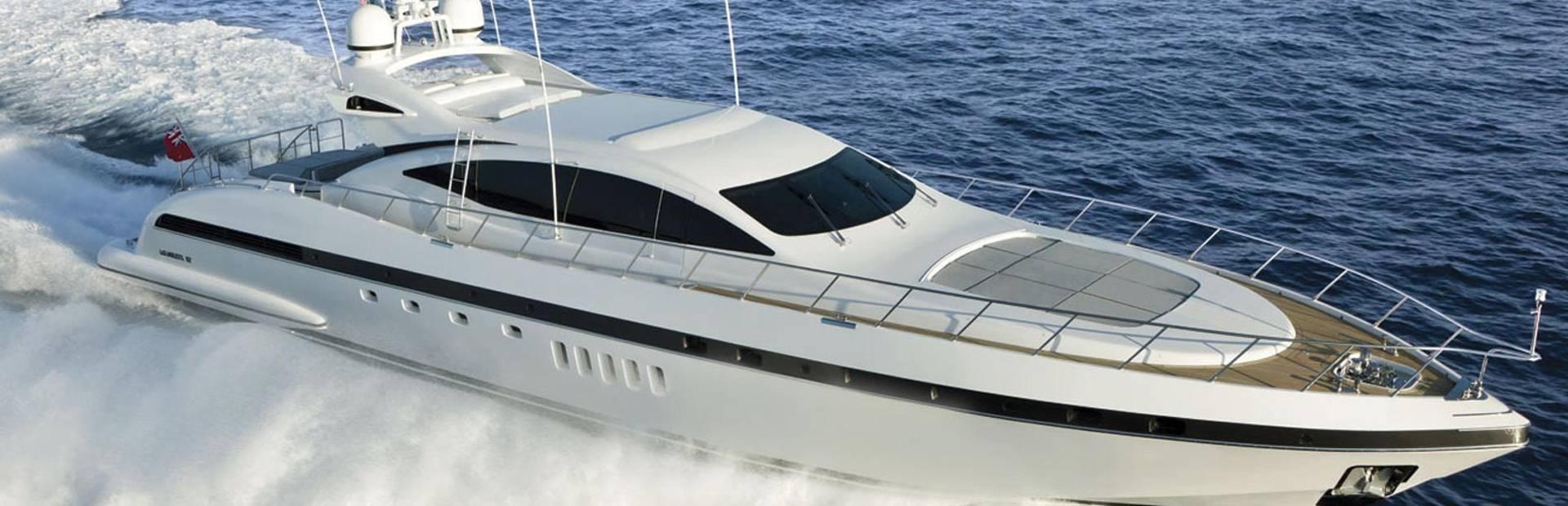 Mangusta 92 Yacht Charter