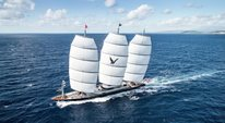 World's largest sailing yacht 'Black Pearl' delivered Thumbnail 1
