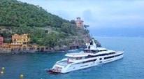 Luxury yacht Lady S from Feadship in Italy