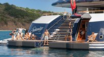 HBO series SUCCESSION superyacht SOLANDGE