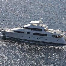 Nina Lu Yacht Running Shot