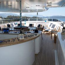 Ionian Princess Yacht Exterior Bar