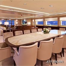 Natalina A Yacht Formal Dining Area