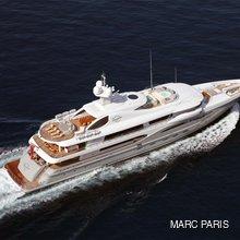 Ventum Maris Yacht Running Shot - Aerial
