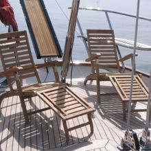 Seabiscuit Yacht Sun Loungers