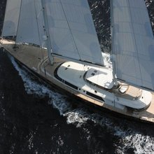 Caoz 14 Yacht Overhead View