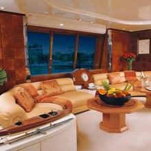 Bad Girl Yacht Salon Seating
