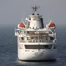 Al Mabrukah Yacht Stern