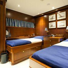 Sea Eagle Yacht Twin Stateroom