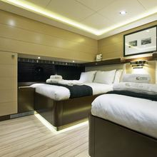 Infinity Yacht Twin Stateroom