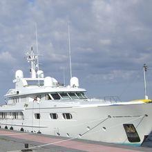 Lady M II Yacht Side View