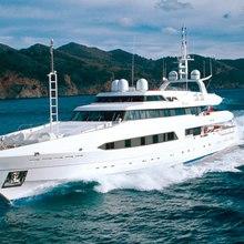 Bad Girl Yacht Running Shot - Profile