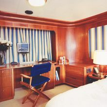 Blue Gold Yacht Guest Stateroom - Seating