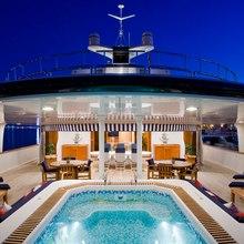 Leander G Yacht Swimming Pool