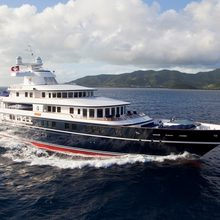 Leander G Yacht Running Shot - Main Profile